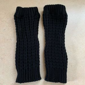 Accessories - Black leg warmer boot socks